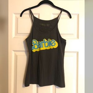 Barbie Gray Tank Top by Mighty Fine